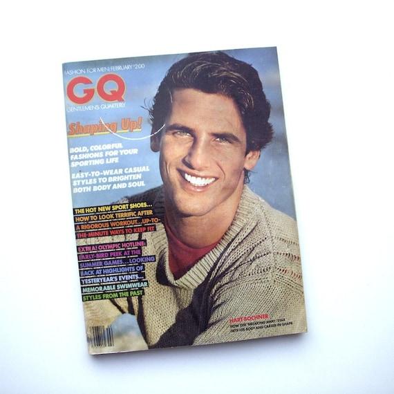 1980s gq Magazine Hart Bochner