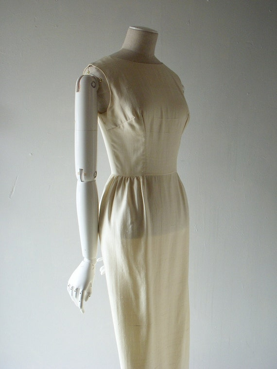 60s silk dress - size 2/4 Mad Men fashion - modern wedding dress - size 2 or 4 - Betty Draper summer chic