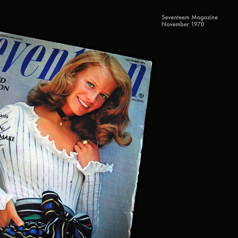 november 1953 Seventeen Magazine Mag Bridal Fashions !!