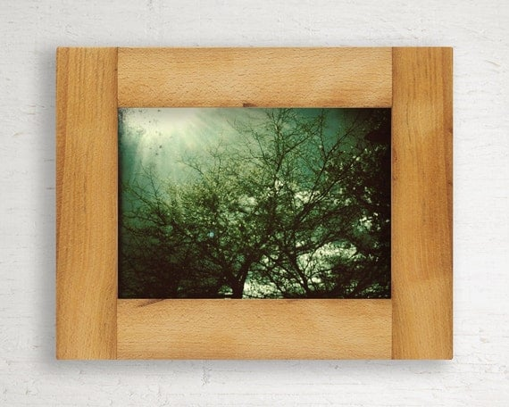 Reclaimed Wood Frame // 5 x 7 // Beech from Jim Beam Distillery // One of a Kind