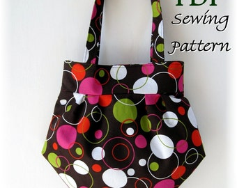 The Bourbon Street Purse PDF Sewing Pattern and Tutorial - Easy to Make - 2 Sizes - SALE PRICE