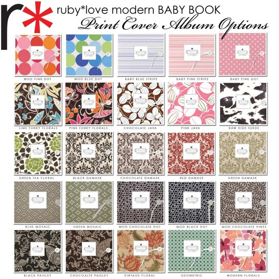 Design Your Own Book Cover ~ Create your own perfect baby memory book by