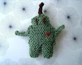 Greenie Luv - Proto the Robot Brooch