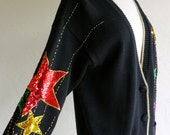 Sequin Star Avante Garde Sweater