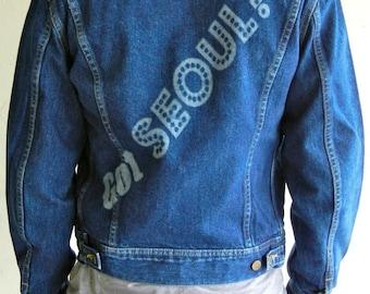 """Vintage Lee """"Seoul-ful"""" Jacket"""