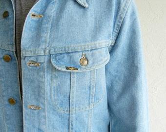 Vintage Lee Light Blue Denim Jacket