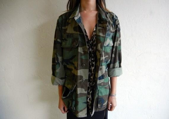 femme camo utility jacket. Black Bedroom Furniture Sets. Home Design Ideas