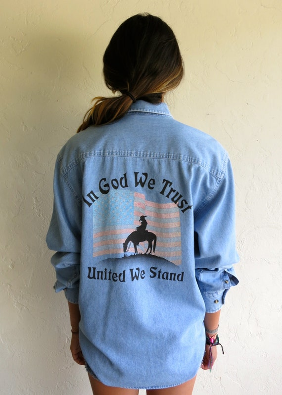 Vintage Rodeo Denim Shirt