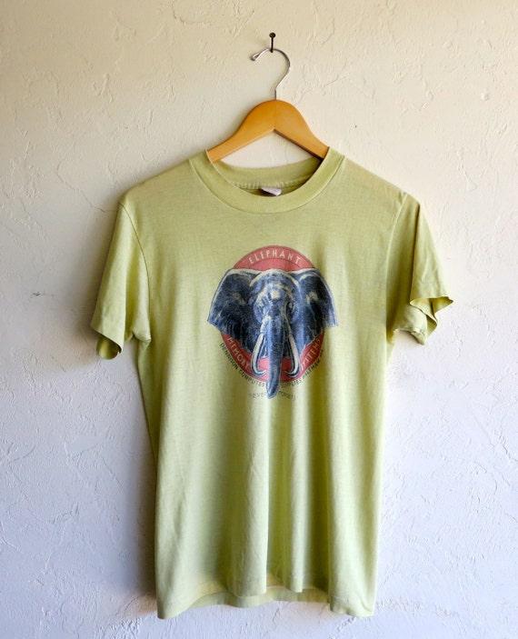 """The Retro """"Elephant Memory Systems"""" Vintage Tshirt"""