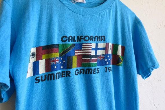 "Retro 1984 ""Olympic Games in California"" Tshirt"