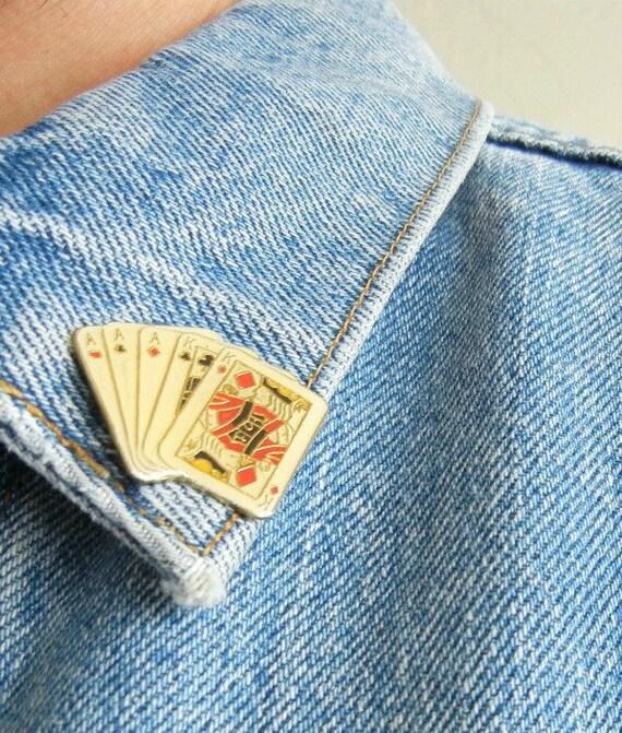 """Vintage Levi's """"Poker"""" Denim Jacket"""
