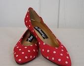 Ladybug Shoes by Proxy size 7
