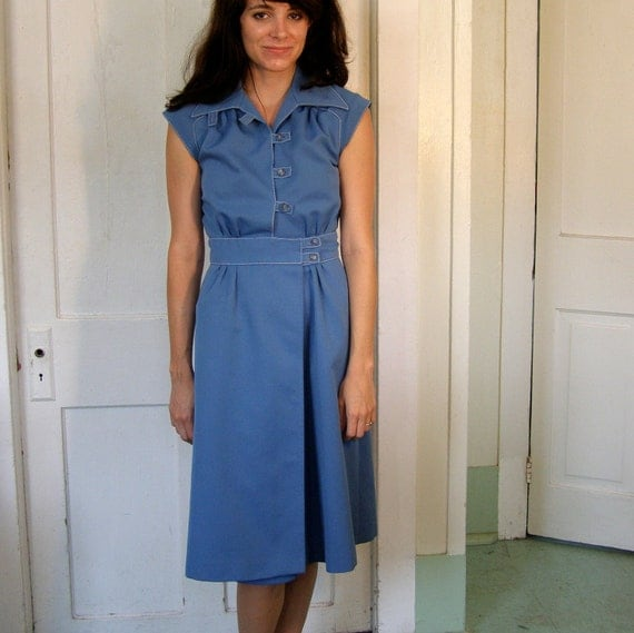 Crisp Blue Summer Dress size XS/S