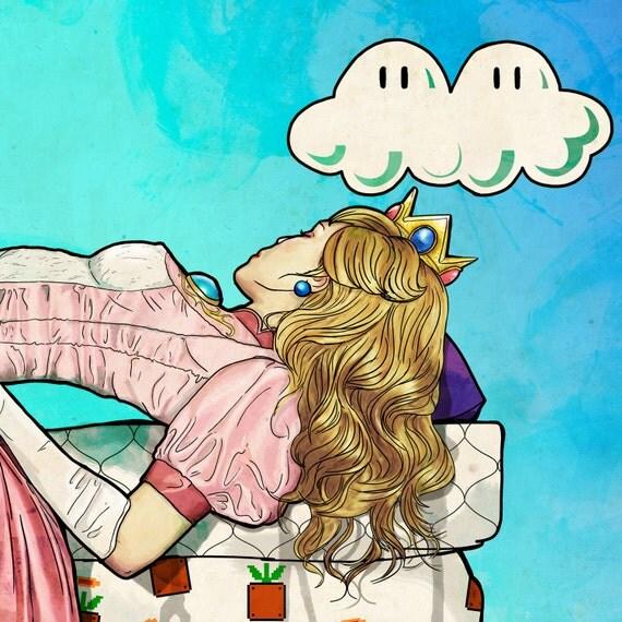 Princess Peach & the Pea