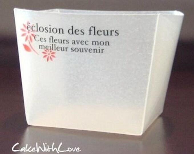 Elegant Square Muffin Cups