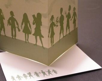 Teacher Gift Cards // Custom Stationary Cards // Folded cards withe envelopes