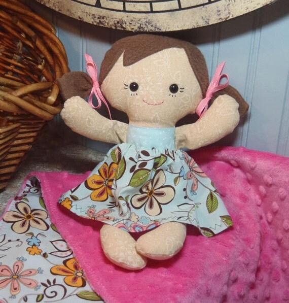 Custom Matching Doll Blanket