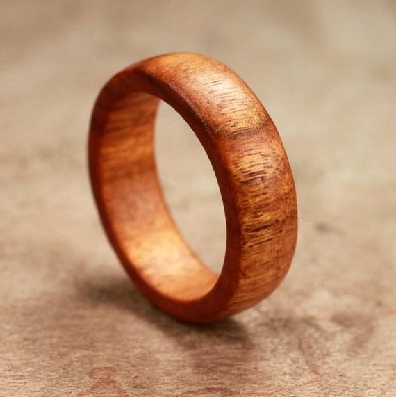 Osage Orange Wood Ring No. 19 Size 8 (05-02-2012)