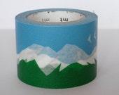 mt Washi Masking Tape - Snowy Mountain - Limited Edition Japanese