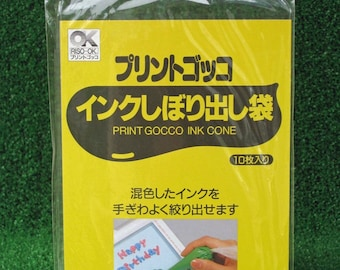 Print Gocco Ink Cones - Pack of 10