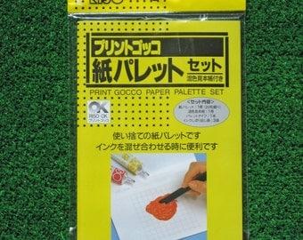 Print Gocco Paper Ink Palette Set