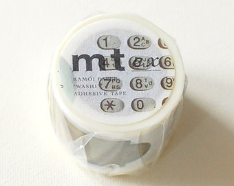 mt ex Washi Masking Tape - Telephone Switch & Bell