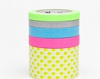 mt Washi Masking Tape - Suite M - Set 5