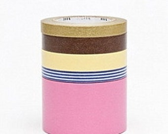 mt Washi Masking Tape - Suite N - Set 5