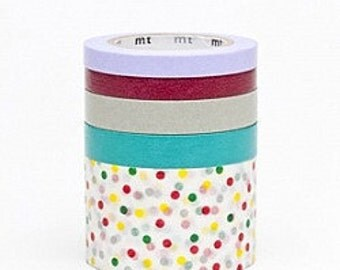 mt Washi Masking Tape - Suite P - Japanese Set 5