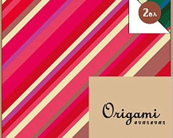 Japanese Origami Paper 15cm (6 inches) - Multi Stripes