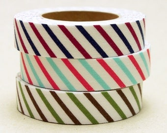Decollections Fabric Masking Tape - Stripes