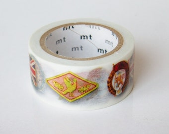 mt Washi Masking Tape - Pin Badge - Limited Edition