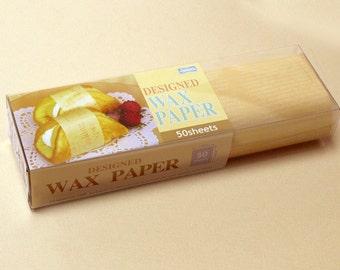 Season Wax Paper - Buttermilk Text - Regular