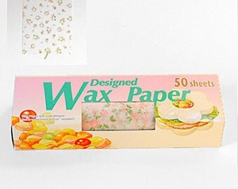 Season Wax Paper - Pink Roses - Regular