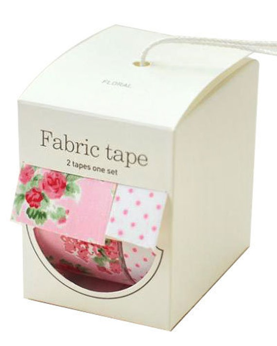 Nuage Fabric Masking Tape - Floral - Wide Set 2