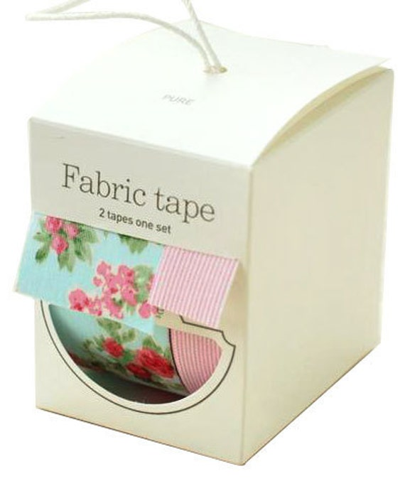 SALE - Nuage Fabric Masking Tape - Pure - Wide Set 2 - 25% off