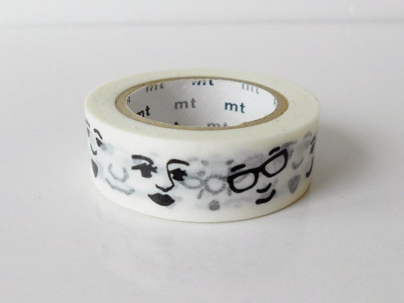mt Washi Masking Tape - Face - Limited Edition