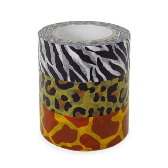 Japanese Colte Washi Masking Tape - Animal in Giraffe Print