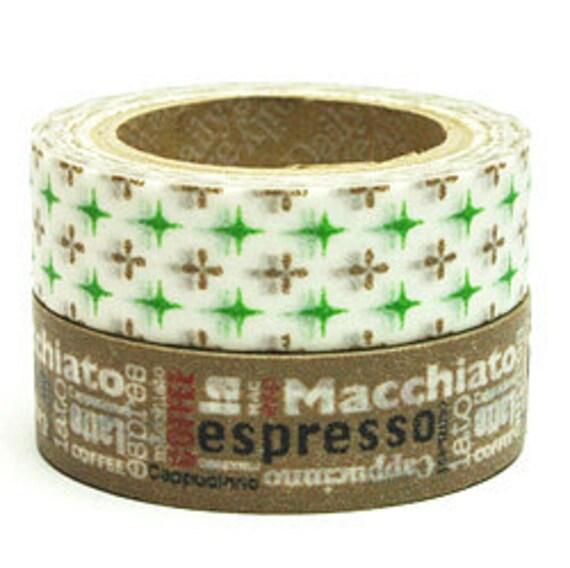 Decollections Masking Tape - Coffee & Diamonds - Set 2 - Benny