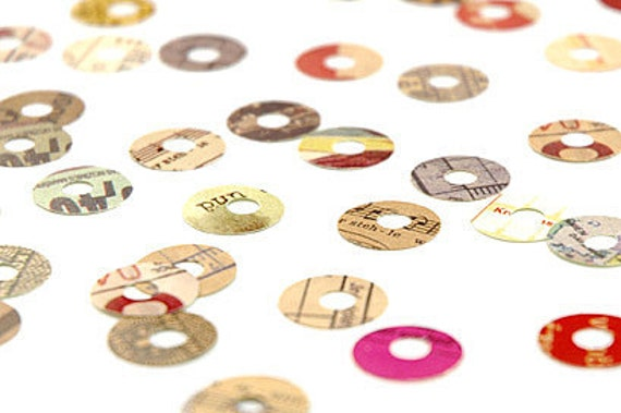 Kurashiki Hole Reinforcement Stickers - for tags & labels