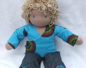 Fynn- 14inch Waldorf boy doll