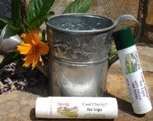 2-Pack Cool Clarity for Lips - Honey-Peppermint and Soothing Eucalyptus