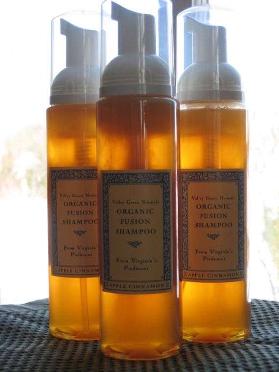 Organic Fusion Shampoo by Valley Green Naturals