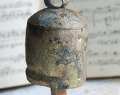 Antique Bell Souvenir... to use in your assemblage mixed media JEWELRY altered art or in any way you would want  Mar 20b