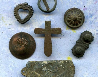 INSTANT COLLECTION from a private archaeological dig... Cool Vintage... antique... old    Laf X 430