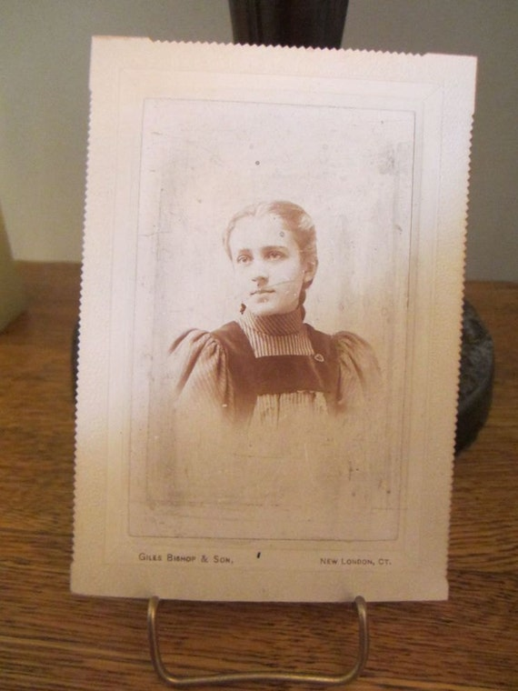 Pretty Young Clara...Antique Photograph Portrait