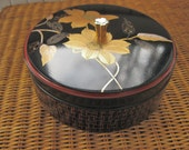 Vintage Japanese Lacquer Ware Box Yamanaka