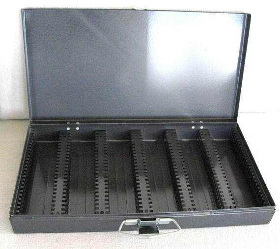 Vintage Slide File Box