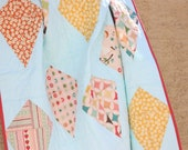 Fly A Kite Throw Quilt