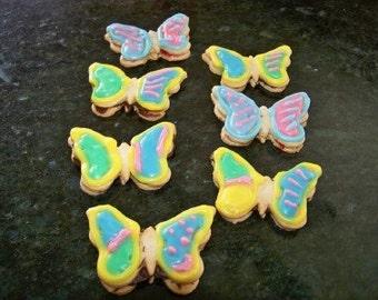 Patty's Springtime Linzer Butterflies